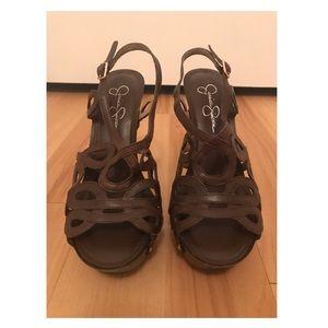 "| Strappy Jessica Simpson ""Genaviv"" Sandals |"